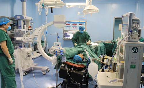 手术设备先进的医院