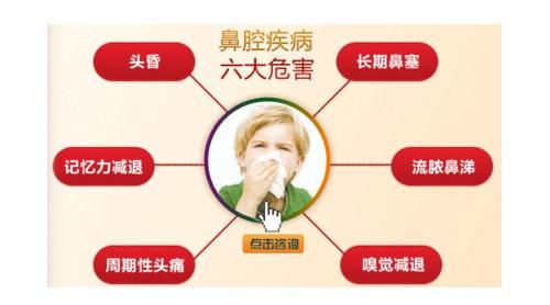 鼻腔疾病的六大危害